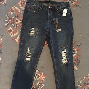 Denim - New sequin skinny jeans